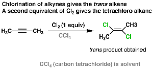 Alkyne Addition Reactions: The 3-Membered Ring Pathway